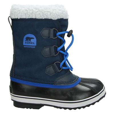 Sorel jongens/meisjes snowboots blauw