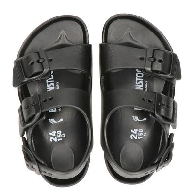 Birkenstock jongens/meisjes sandalen zwart