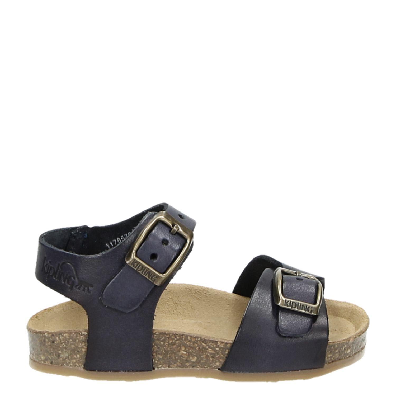 65253418769 Kipling jongens/meisjes sandalen blauw