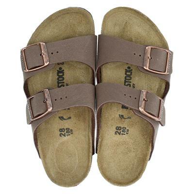 Birkenstock jongens/meisjes slippers bruin