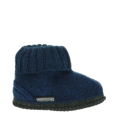 Bergstein jongens/meisjes pantoffels blauw