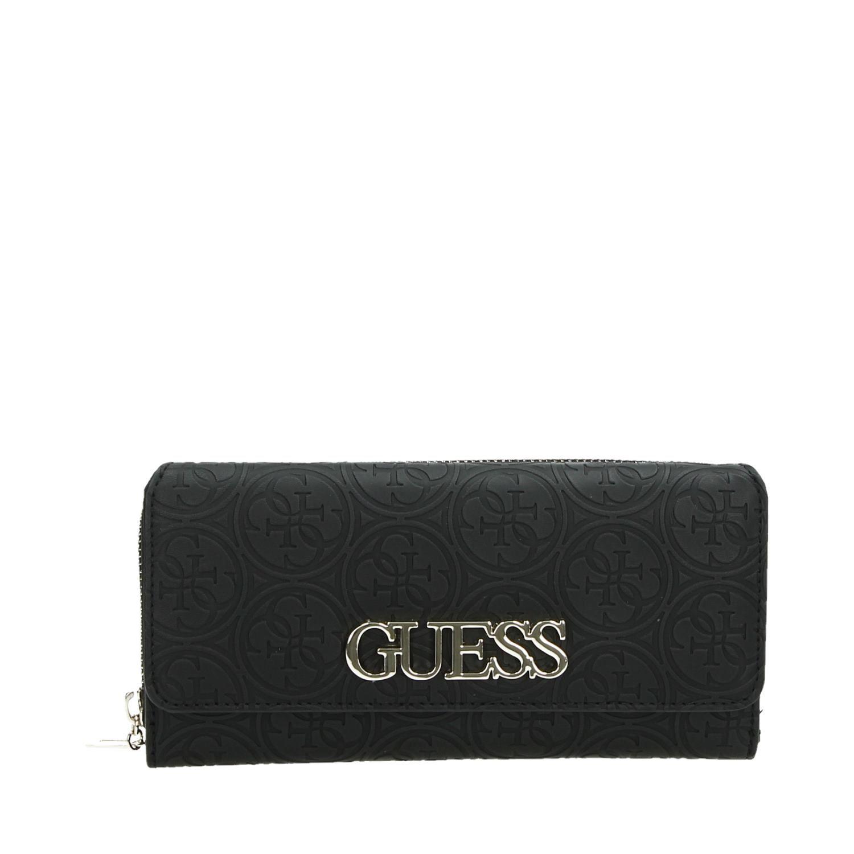 33002f0cb7b Guess Heritage pop SLG tassen portemonnees zwart