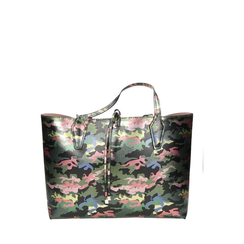 Guess Bobbi Inside Out Tote - Schoudertassen - Groen