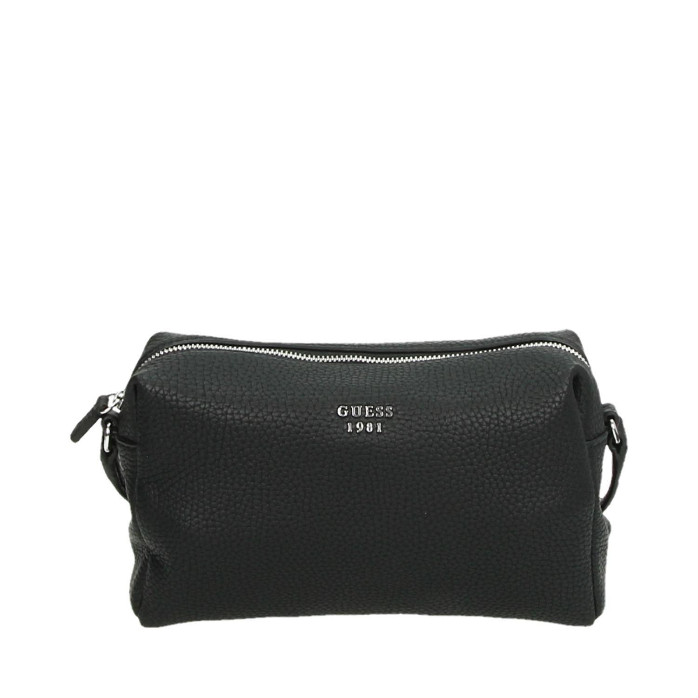 a09a488839b Guess Flora Mini Crossbody tassen schoudertassen zwart