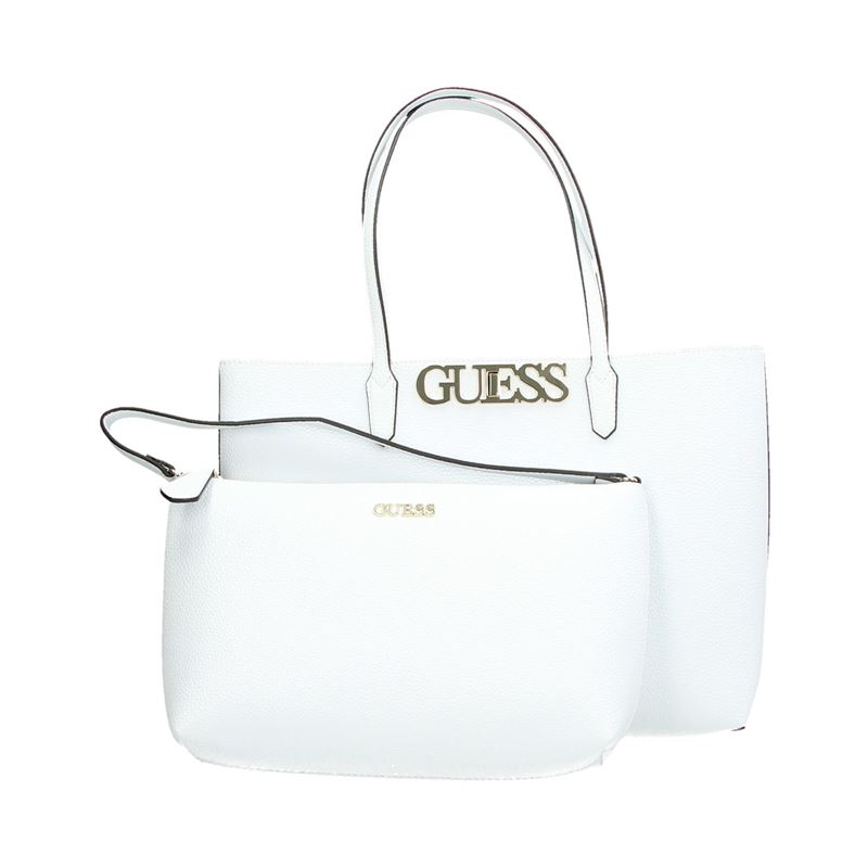 Guess Uptown Chic - Handtas - Wit
