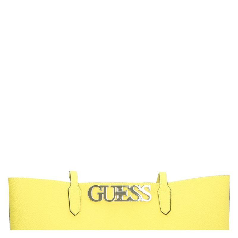 Guess Uptown Chic - Handtas - Geel