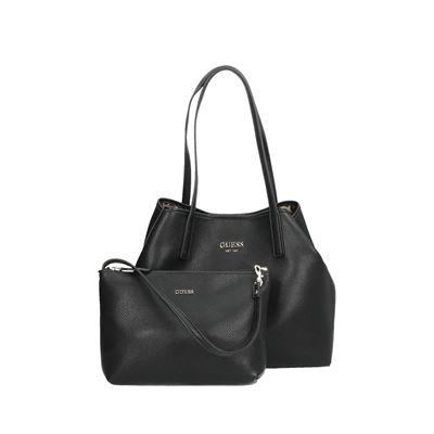 Guess tassen schoudertassen zwart