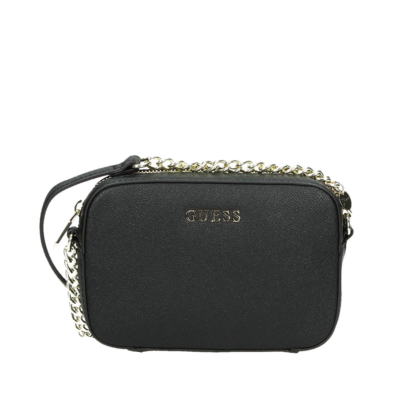 Schoudertassen Dames Guess : Guess tassen schoudertassen zwart