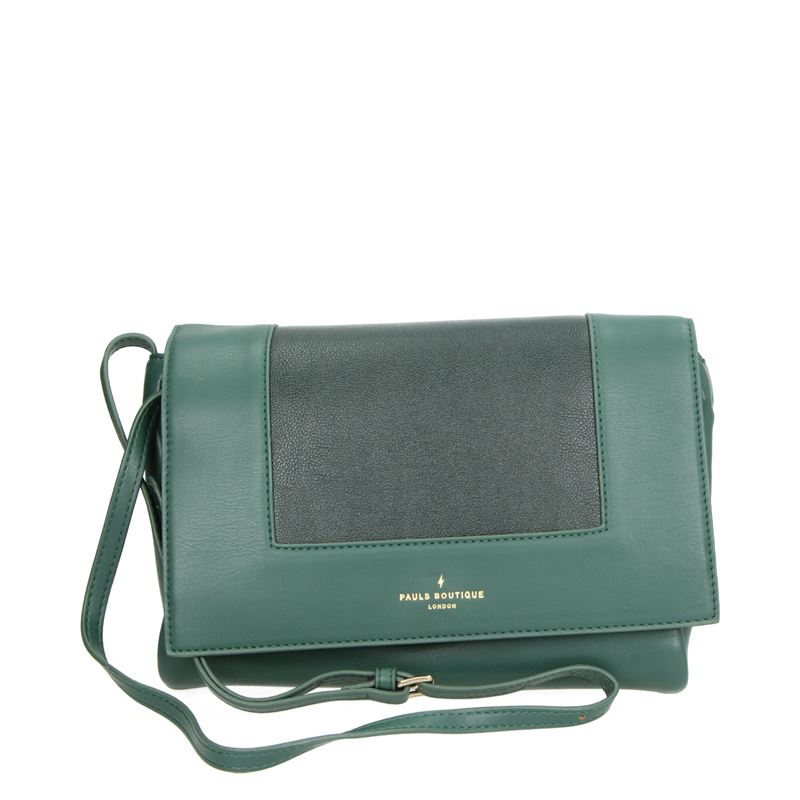 Paul's Boutique Lily - Schoudertassen - Groen