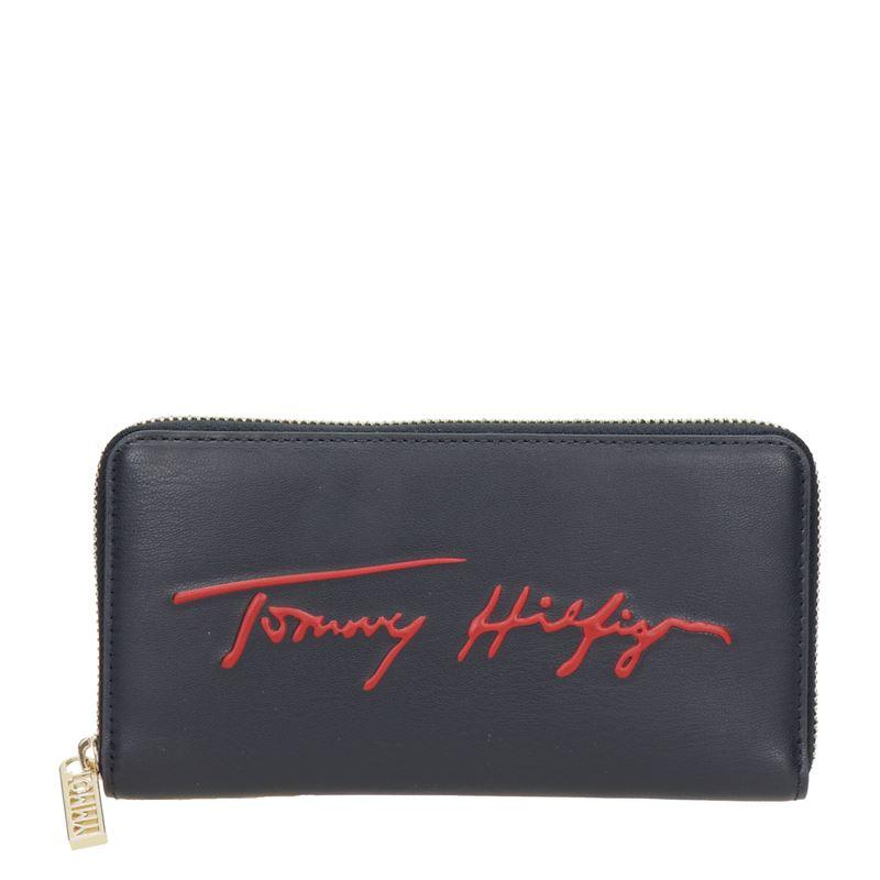 Tommy Hilfiger Sport LRG ZA Signature - Portemonnee - Blauw