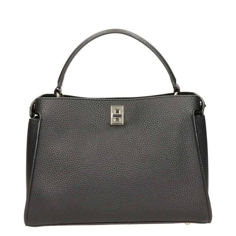 Guess Turnlock Chic - Handtas - Zwart