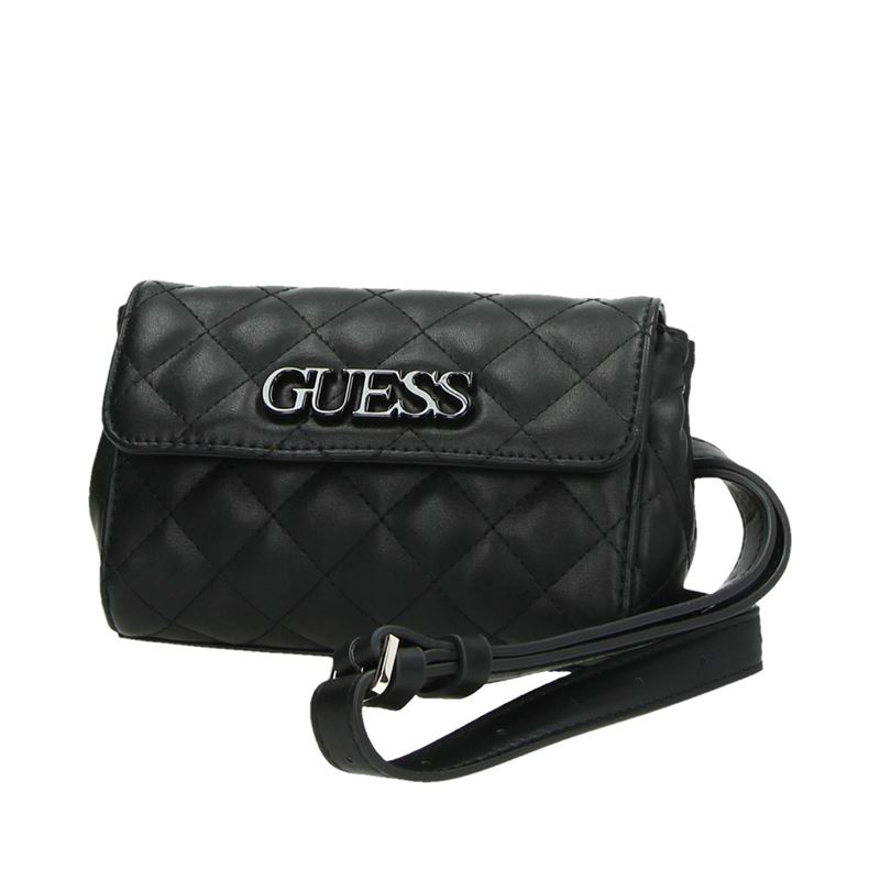 Guess Elliana Mini - Schoudertassen - Zwart