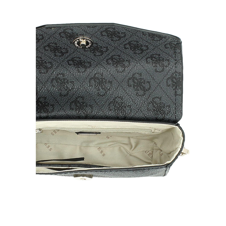 5b5a7ac36af Guess Landon tassen handtassen zwart