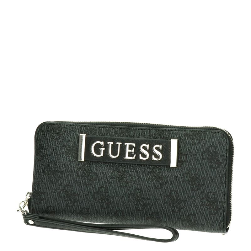 Guess Kerrigan Large zip a - Portemonnees - Zwart
