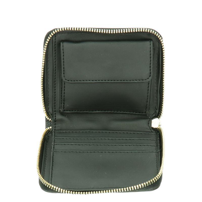 Guess Kerrigan small zip - Portemonnees - Zwart