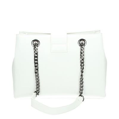 Valentino tassen schoudertassen Ecru