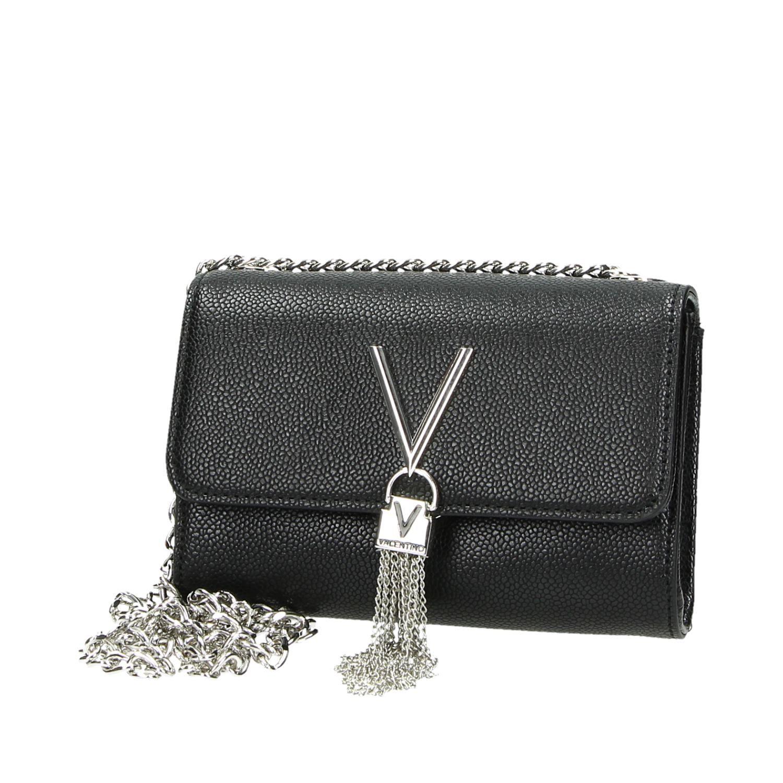 Valentino Tas Dames : Valentino divina tassen schoudertassen zwart
