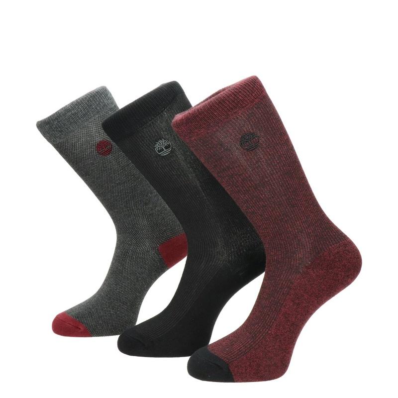 Timberland Marled Ribbed - Sokken - Rood