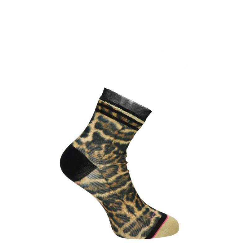 Xpooos Lucille Leopard - Sokken